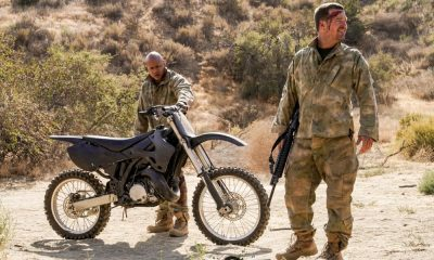"""To Live And Die In Mexico"" -- Pictured: LL COOL J (Special Agent Sam Hanna) and Chris O'Donnell (Special Agent G. Callen). Gravely injured and unable to communicate to the team in Los Angeles, Callen, Sam and Kensi, with an unconscious Deeks in tow, search for help and a way home during their off-the-books mission in Mexico, on the tenth series premiere of NCIS: LOS ANGELES, Sunday, Sept. 30 (9:30-10:30, ET/PT), on the CBS Television Network. Photo: Robert Voets/CBS ©2018 CBS Broadcasting, Inc. All Rights Reserved."