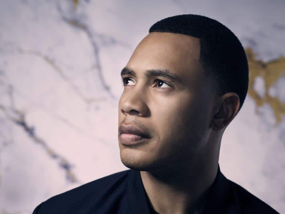 EMPIRE: Trai Byers on Season Five of EMPIRE premiering Wednesday, Sept. 26 (8:00-9:00 PM ET/PT) on FOX. ©2018 Fox Broadcasting Co. CR: Patrick Hoelck/FOX