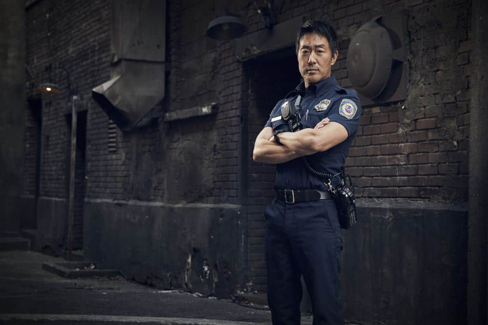 9-1-1: Kenneth Choi. CR: Mathieu Young/ FOX. © 2018 FOX Broadcasting.