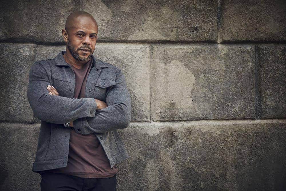 9-1-1: Rockmond Dunbar. CR: Mathieu Young/ FOX. © 2018 FOX Broadcasting.