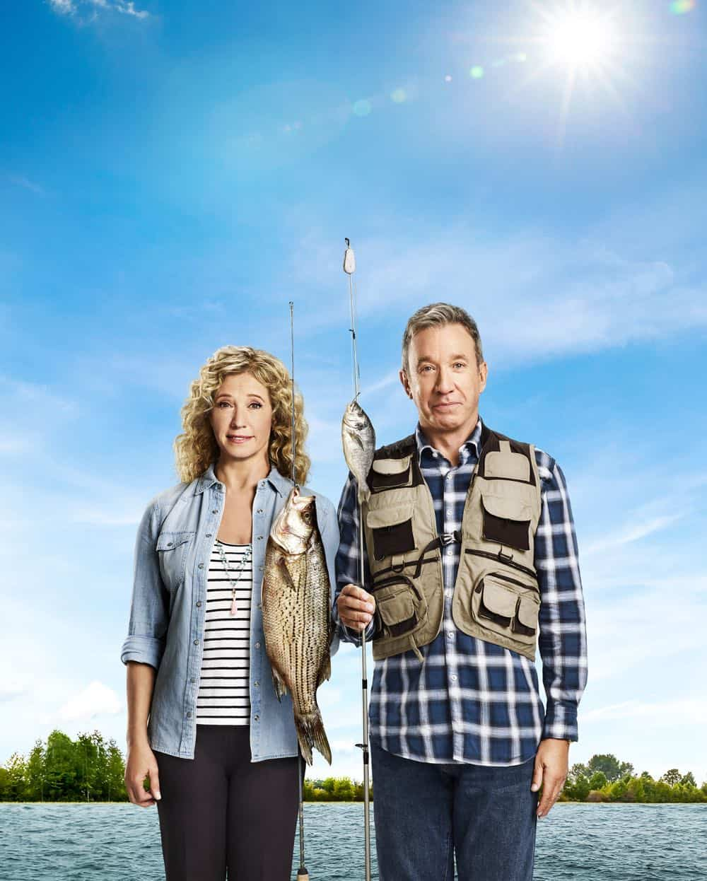 LAST MAN STANDING: L-R: Tim Allen and Nancy Travis. CR: Elisabeth Caren / FOX. © 2018 FOX Broadcasting.