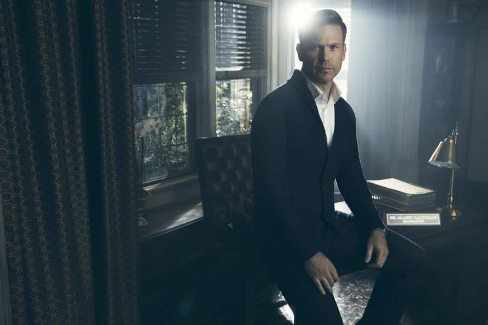 Legacies -- Image Number: LGC1_ALARIC_0008r.jpg -- Pictured: Matthew Davis as Alaric Saltzman -- Photo: Miller Mobley/The CW -- © 2018 The CW Network, LLC. All Rights Reserved.
