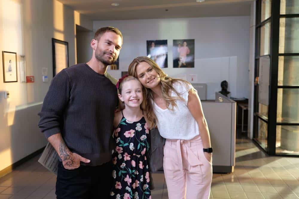 "LETHAL WEAPON: L-R: Seann William Scott and guest stars Shay Rudolph and Maggie Lawson in the ""In The Same Boat"" season premiere episode of LETHAL WEAPON airing Tuesday, September 25 (9:00-10:00 PM ET/PT) on FOX. ©2018 Fox Broadcasting Co. CR: Ray Mickshaw/FOX"