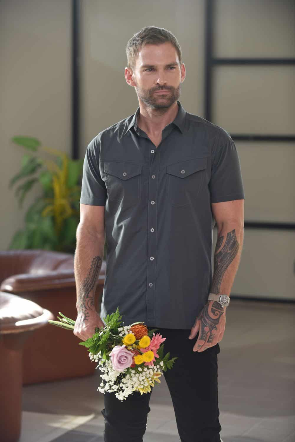 """LETHAL WEAPON: Seann William Scott in the """"In The Same Boat"""" season premiere episode of LETHAL WEAPON airing Tuesday, September 25 (9:00-10:00 PM ET/PT) on FOX. ©2018 Fox Broadcasting Co. CR: Ray Mickshaw/FOX"""