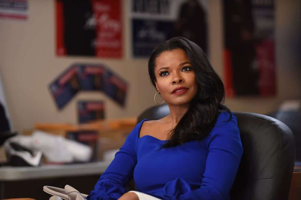"""LETHAL WEAPON: Keesha Sharp in the """"In The Same Boat"""" season premiere episode of LETHAL WEAPON airing Tuesday, September 25 (9:00-10:00 PM ET/PT) on FOX. ©2018 Fox Broadcasting Co. CR: Ray Mickshaw/FOX"""