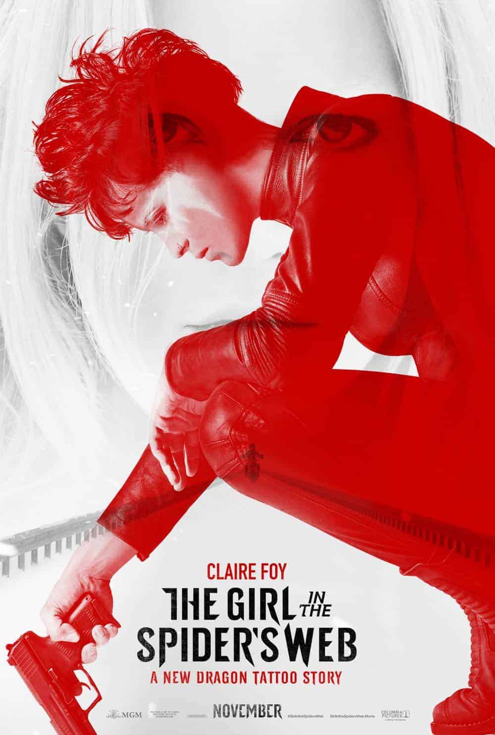 the girl in the spider s web new trailer poster seat42f