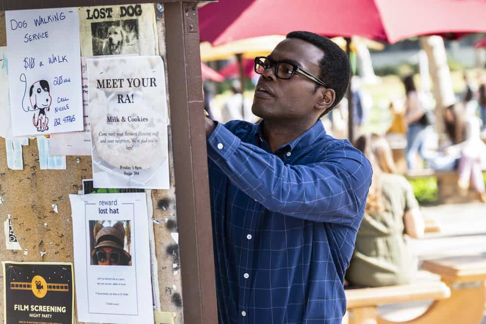 "THE GOOD PLACE -- ""Everything is Bronzer! Pt. 2"" Episode 302 -- Pictured: William Jackson Harper as Chidi -- (Photo by: Justin Lubin/NBC)"