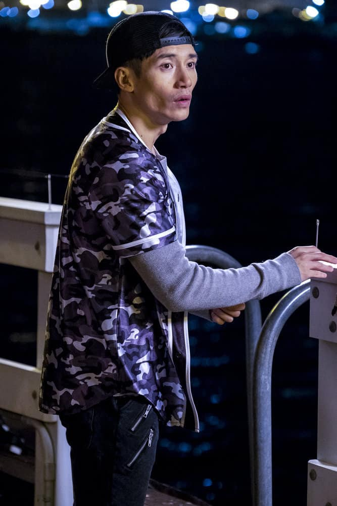 "THE GOOD PLACE -- ""Everything is Bronzer! Pt. 2"" Episode 302 -- Pictured: Manny Jacinto as Jianyu -- (Photo by: Justin Lubin/NBC)"