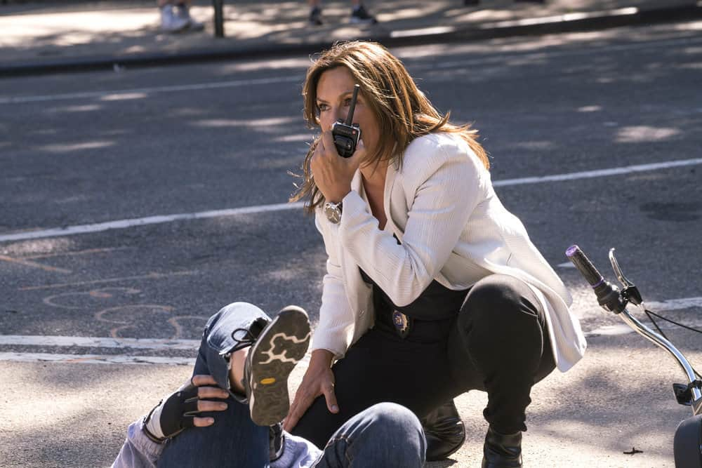 "LAW & ORDER: SPECIAL VICTIMS UNIT -- ""Man Up"" Episode 2001 -- Pictured: Mariska Hargitay as Lieutenant Olivia Benson -- (Photo by: Barbara Nitke/NBC)"