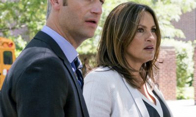 "LAW & ORDER: SPECIAL VICTIMS UNIT -- ""Man Up"" Episode 2001 -- Pictured: (l-r) -Peter Scanavino as Dominick ""Sonny"" Carisi, Mariska Hargitay as Lieutenant Olivia Benson - (Photo by: Barbara Nitke/NBC)"