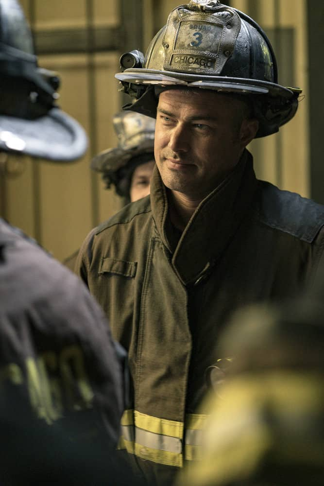 "CHICAGO FIRE -- ""A Closer Eye"" Episode 701 -- Pictured: Taylor Kinney as Kelly Severide -- (Photo by: Matt Dinerstein/NBC)"