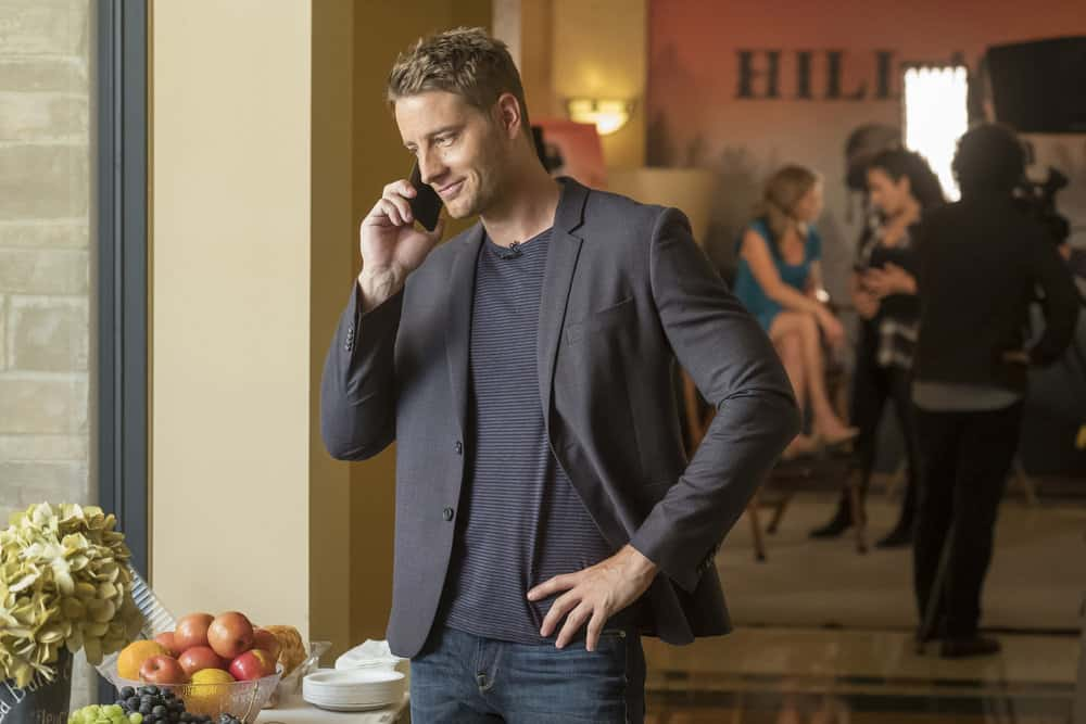 "THIS IS US -- ""Ave Maria"" Episode 301 -- Pictured: Justin Hartley as Kevin -- (Photo by: Ron Batzdorff/NBC)"