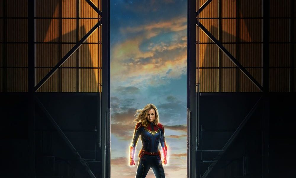 Marvel Movie Posters: CAPTAIN MARVEL Trailer And Poster