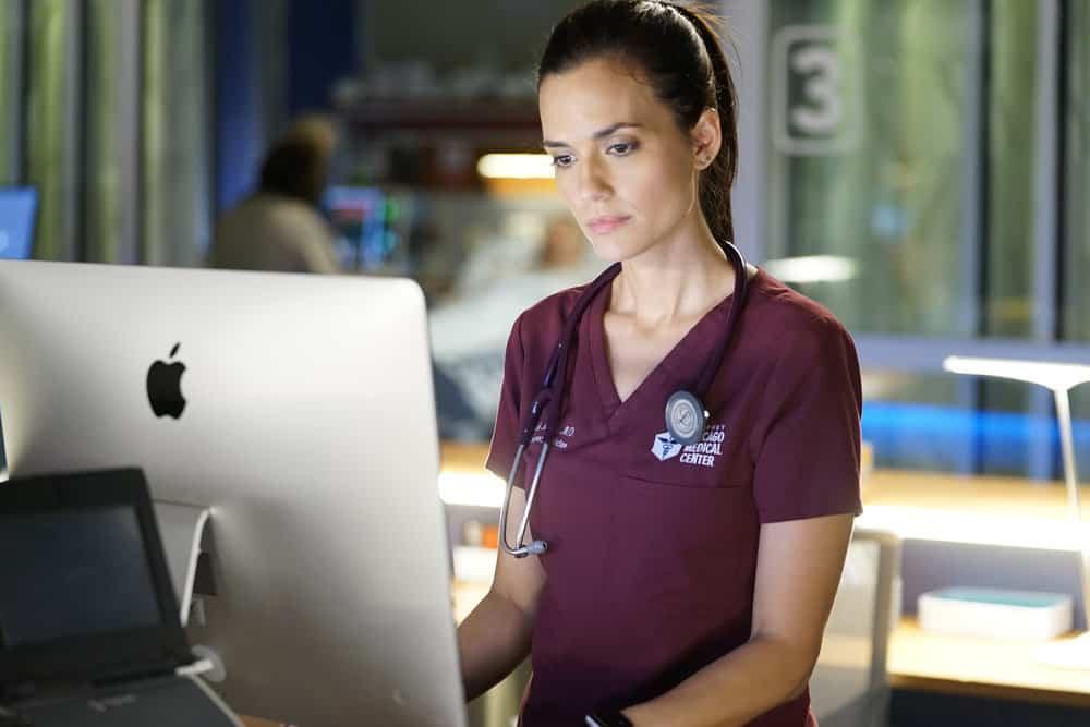 "CHICAGO MED -- ""Be My Better Half"" Episode 401 -- Pictured: Torrey DeVitto as Natalie Manning -- (Photo by: Elizabeth Sisson/NBC)"