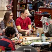 """The Wedding Gift Wormhole"" -- Pictured: Amy Farrah Fowler (Mayim Bialik), Sheldon Cooper (Jim Parsons) and Leonard Hofstadter (Johnny Galecki). Sheldon and Amy drive themselves crazy trying to figure out what ""perfect gift"" Leonard and Penny gave them for their wedding. Also, Koothrappali decides he wants to settle down and asks his father to arrange a marriage for him, on THE BIG BANG THEORY, when it moves to its regular time slot, Thursday, Sept. 27 (8:00-8:31 PM, ET/PT) on the CBS Television Network. Photo: Michael Yarish/CBS ©2018 CBS Broadcasting, Inc. All Rights Reserved."