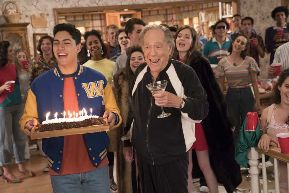 "THE GOLDBERGS - ""Sixteen Candles"" - It's Adam's 16th birthday, but his parents are too distracted by Barry and Lainey's engagement and Erica's band ambitions to remember their youngest son's big day. But the situation presents an opportunity for Adam to ask Erica to put him on the high school social map.  Meanwhile, Beverly thinks she can scare Barry and Lainey straight with the reality of being adults, on the season premiere of ""The Goldbergs,"" WEDNESDAY, SEPT. 26 (8:00–8:30 p.m. EDT), on The ABC Television Network. (ABC/Mitch Haaseth) NIKO GUARDADO, GEORGE SEGAL"
