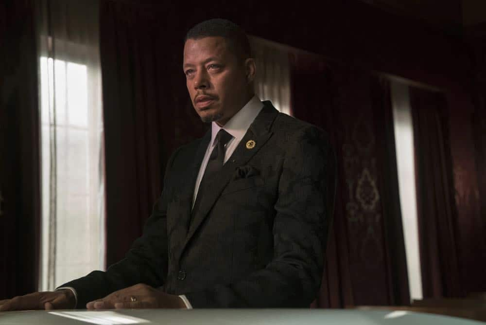 "EMPIRE: Terrence Howard in the ""Steal From the Thief"" Season Five premiere episode of EMPIRE airing Wednesday, September 26 (8:00-9:00 PM ET/PT) on FOX. @2018 Fox Broadcasting Co. CR: Chuck Hodes/FOX."