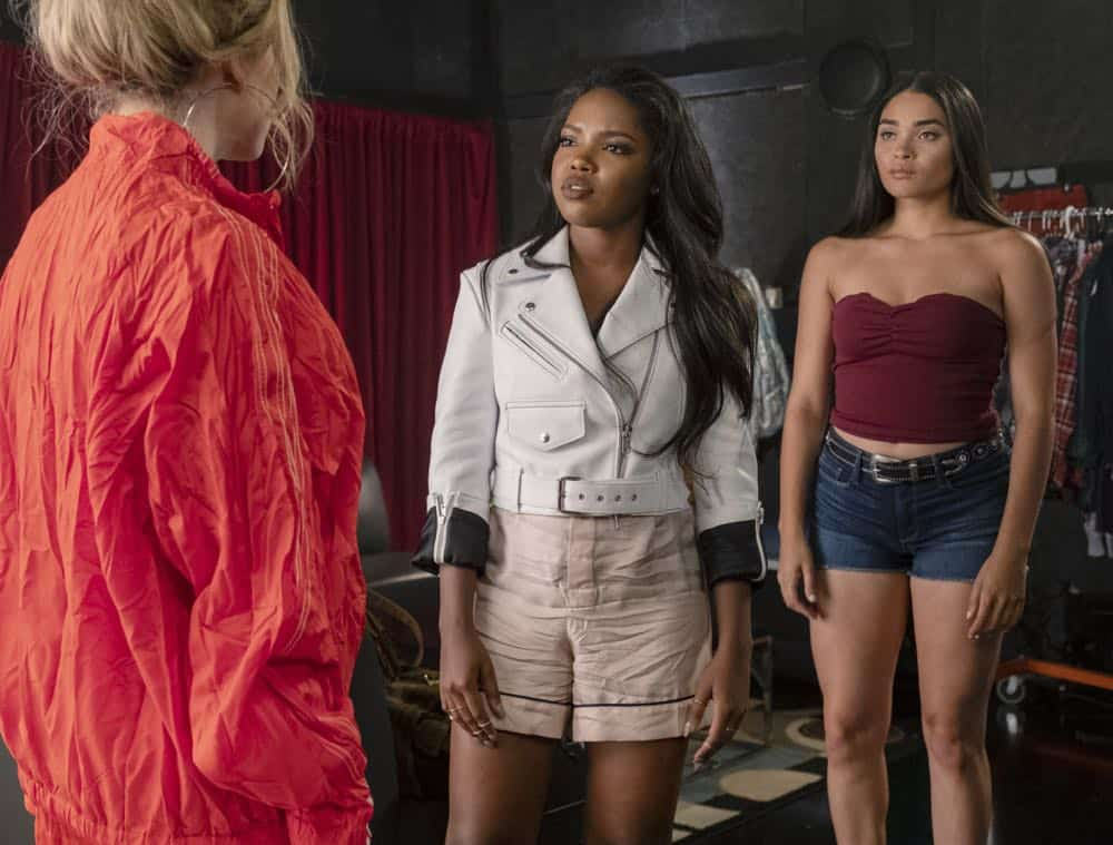 "STAR: L-R: Jude Demorest, Ryan Destiny and Brittany O'Grady in the ""Secrets & Lies"" Season Three premiere of STAR airing Wednesday, Sept. 26 (9:00-10:00 PM ET/PT) on FOX. ©2018 Fox Broadcasting Co. CR: Wilford Harewood/FOX"