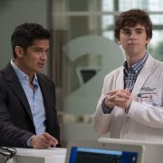 """THE GOOD DOCTOR - """"Middle Ground"""" - As Shaun pushes back against Dr. Melendez in order to treat a gravely ill hospital janitor and deal with the return of Lea, Dr. Lim risks a lawsuit and her career to help a teenage girl repair the damage caused by an archaic custom. Meanwhile, Dr. Glassman exercises demanding oversight with Dr. Blaize in choosing a doctor for his brain surgery, on the """"The Good Doctor,"""" MONDAY, OCT. 1 (10:00-11:00 p.m. EDT), on The ABC Television Network. (ABC/Jeff Weddell) NICHOLAS GONZALEZ, FREDDIE HIGHMORE"""