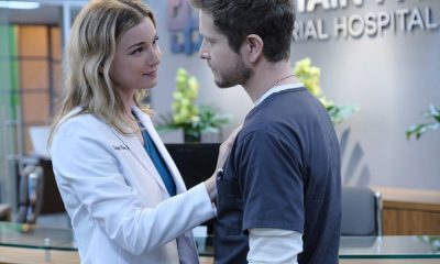 "THE RESIDENT: L-R: Emily VanCamp and Matt Czuchry in the ""The Prince & The Pauper"" episode of THE RESIDENT airing Monday, Oct. 1 (8:00-9:00 PM ET/PT) on FOX. ©2018 Fox Broadcasting Co. Cr: Guy D'Alema/FOX"