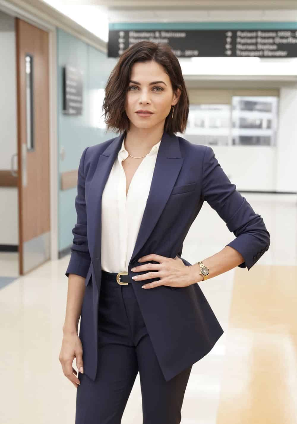 "THE RESIDENT: Guest star Jenna Dewan in the ""The Prince & The Pauper"" episode of THE RESIDENT airing Monday, Oct. 1 (8:00-9:00 PM ET/PT) on FOX. ©2018 Fox Broadcasting Co. Cr: Jace Downs/FOX."