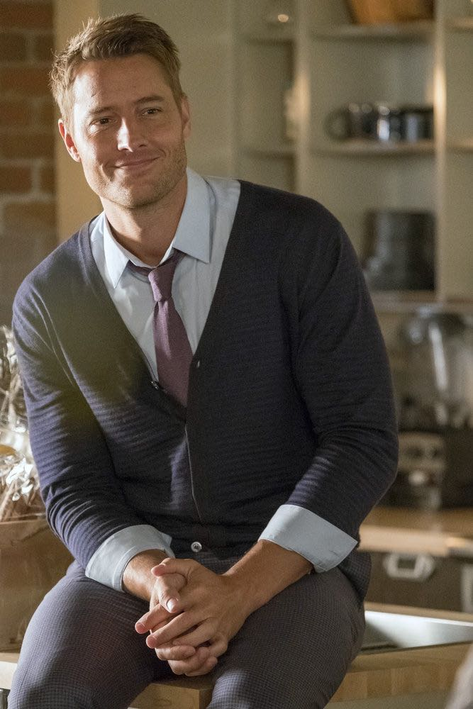 "THIS IS US -- ""A Philadelphia Story"" Episode 302 -- Pictured: Justin Hartley as Kevin Pearson -- (Photo by: Ron Batzdorff/NBC)"