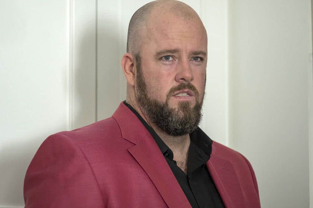 "THIS IS US -- ""A Philadelphia Story"" Episode 302 -- Pictured: Chris Sullivan as Toby -- (Photo by: Ron Batzdorff/NBC)"