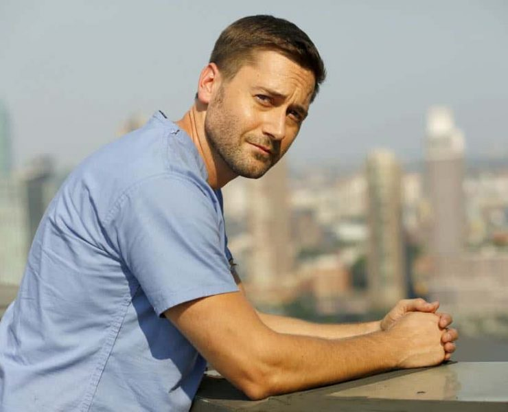 """NEW AMSTERDAM -- """"Rituals"""" Episode 102 -- Pictured: Ryan Eggold as Dr. Max Goodwin -- (Photo by: Will Hart/NBC)"""