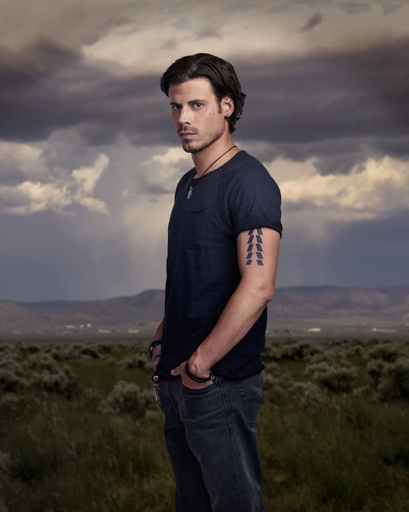 MIDNIGHT, TEXAS -- Season: 2 -- Pictured: François Arnaud as Manfred Bernardo -- (Photo by: Virginia Sherwood/NBC)