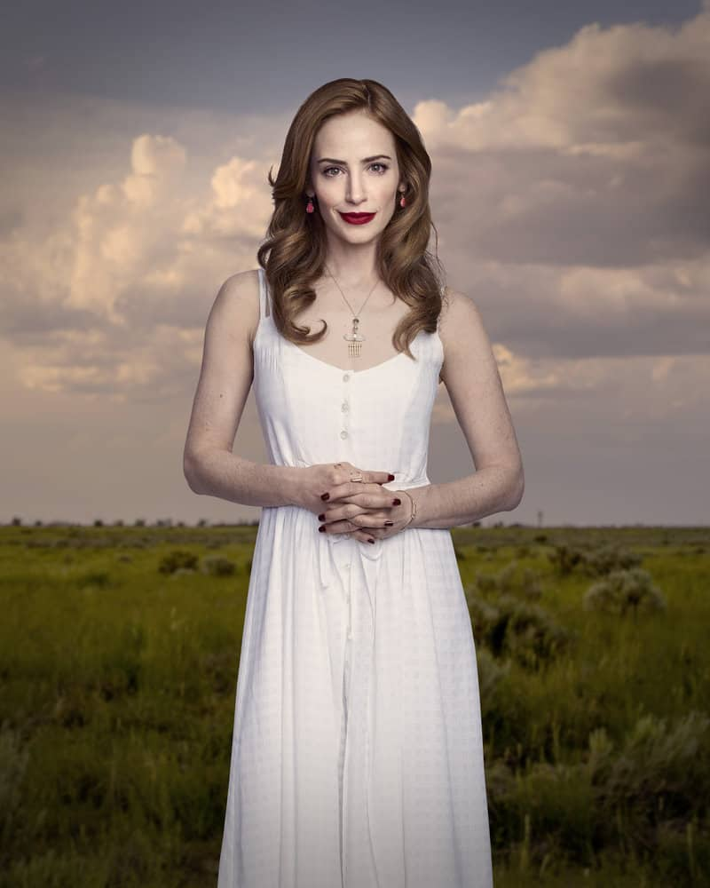 MIDNIGHT, TEXAS -- Season: 2 -- Pictured: Jaime Ray Newman as Patience -- (Photo by: Virginia Sherwood/NBC)