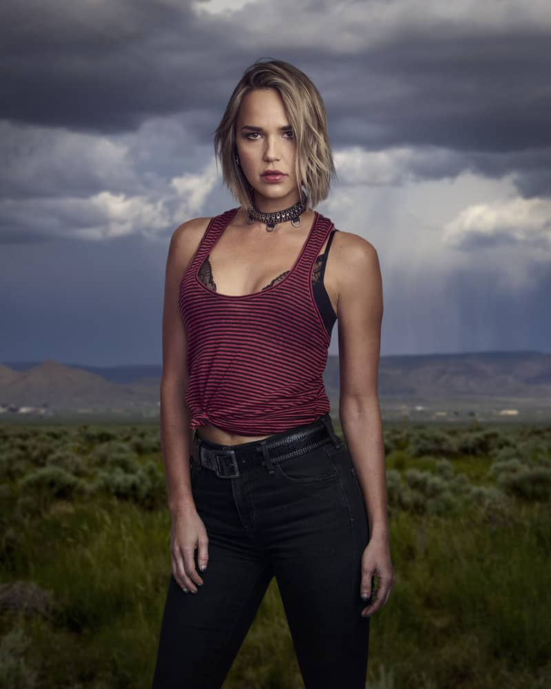 MIDNIGHT, TEXAS -- Season: 2 -- Pictured: Arielle Kebbel as Olivia -- (Photo by: Virginia Sherwood/NBC)