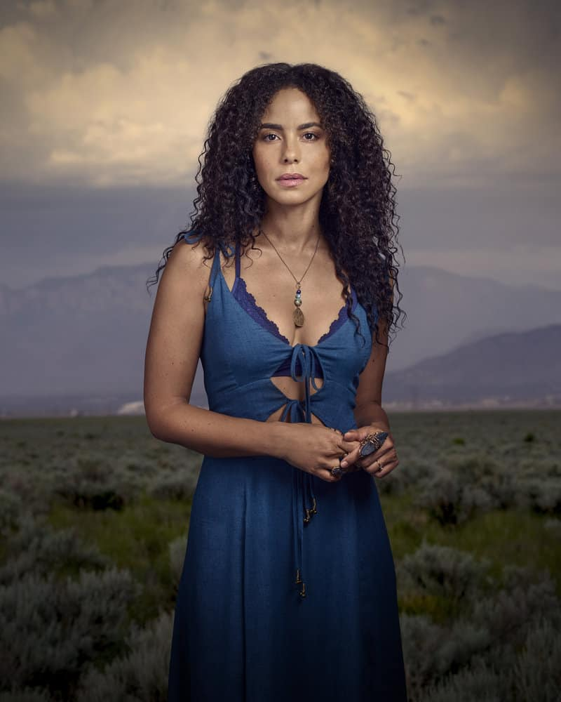 MIDNIGHT, TEXAS -- Season: 2 -- Pictured: Parisa Fitz Henley as Fiji -- (Photo by: Virginia Sherwood/NBC)