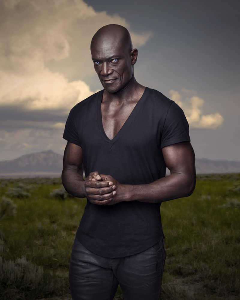 MIDNIGHT, TEXAS -- Season: 2 -- Pictured: Peter Mensah as Lemuel -- (Photo by: Virginia Sherwood/NBC)