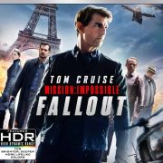 MISSION IMPOSSIBLE FALLOUT 4K Bluray Digital