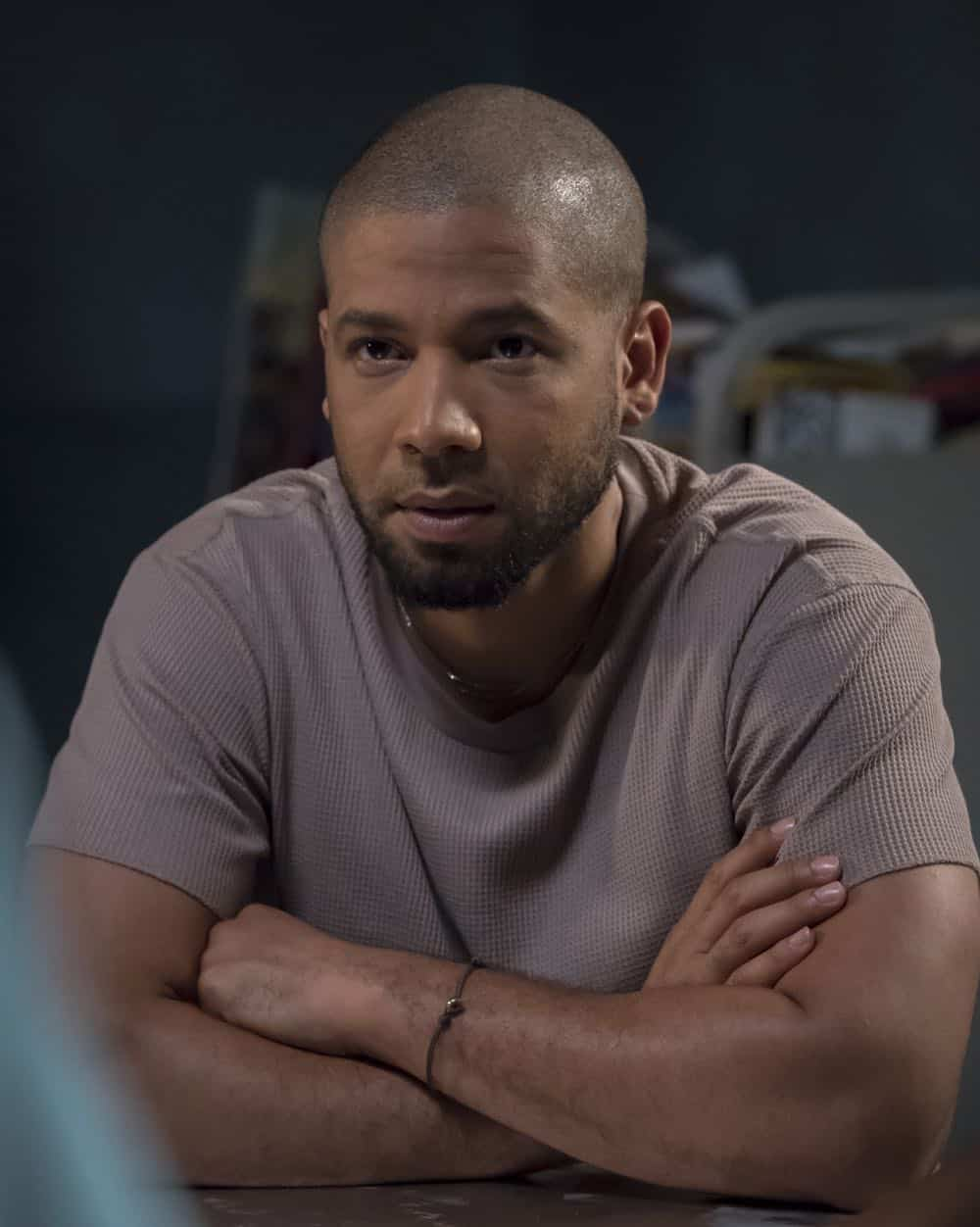"EMPIRE: Jussie Smollett in the ""Pay For Their Presumptions"" Season Five episode of EMPIRE airing Wednesday, Oct. 3 (8:00-9:00 PM ET/PT) on FOX. @2018 Fox Broadcasting Co. CR: Chuck Hodes/FOX."