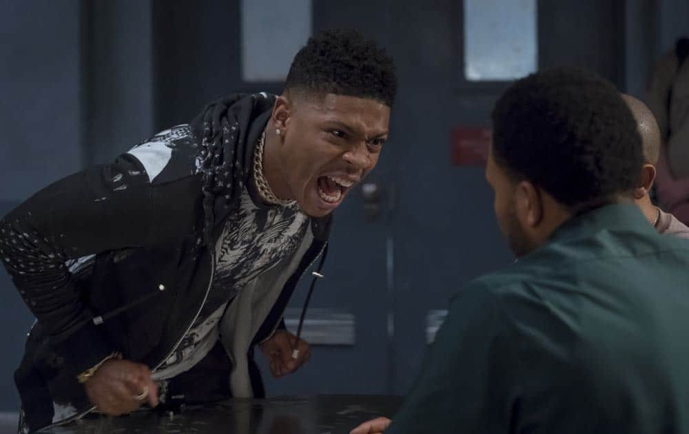 "EMPIRE: Bryshere Y. Gray in the ""Pay For Their Presumptions"" Season Five episode of EMPIRE airing Wednesday, Oct. 3 (8:00-9:00 PM ET/PT) on FOX. @2018 Fox Broadcasting Co. CR: Chuck Hodes/FOX."