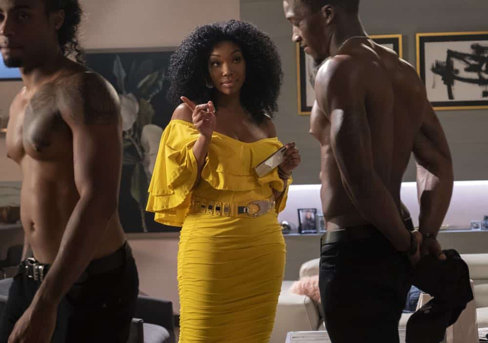 """STAR: Brandy Norwood in the """"Who's The Daddy"""" Season Three episode of STAR airing Wednesday, October 3 (9:00-10:00 PM ET/PT) on FOX. ©2018 Fox Broadcasting Co. CR: Wilford Harewood/FOX"""