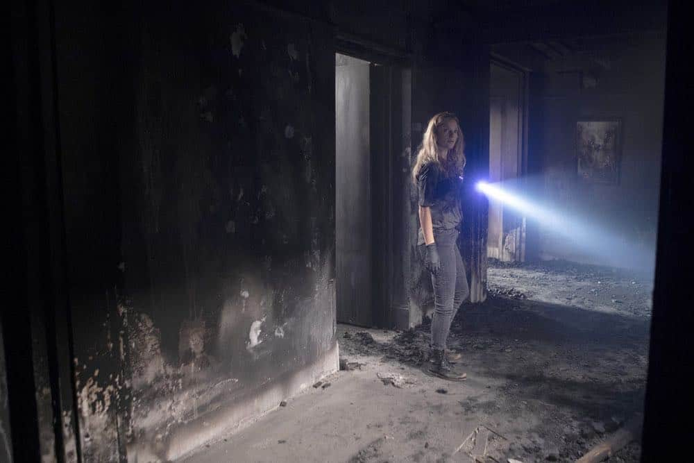 """CHICAGO P.D. -- """"Endings"""" Episode 603 -- Pictured: Tracy Spiridakos as Hailey Upton -- (Photo by: Adrian Burrows/NBC)"""