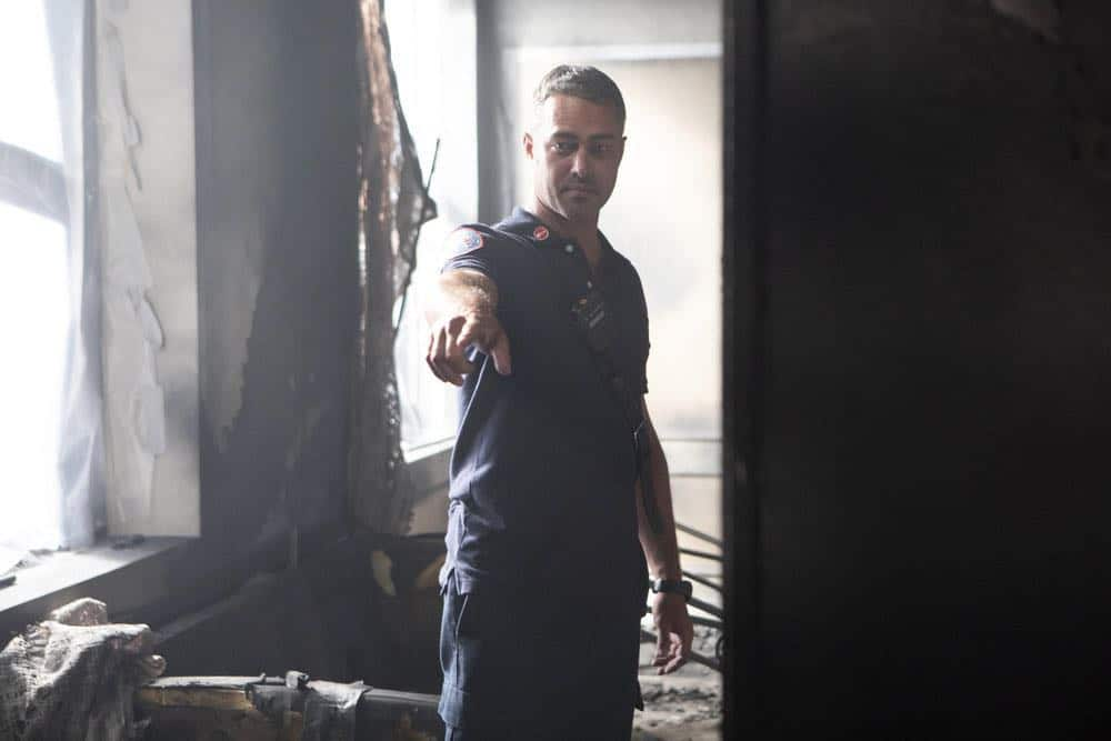 """CHICAGO P.D. -- """"Endings"""" Episode 603 -- Pictured: Taylor Kinney as Kelly Severide -- (Photo by: Adrian Burrows/NBC)"""