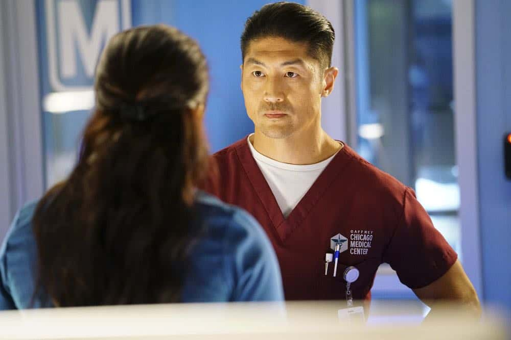 "CHICAGO MED -- ""When To Let Go"" Episode 402 -- Pictured: Brian Tee as Ethan Choi -- (Photo by: Elizabeth Sisson/NBC)"