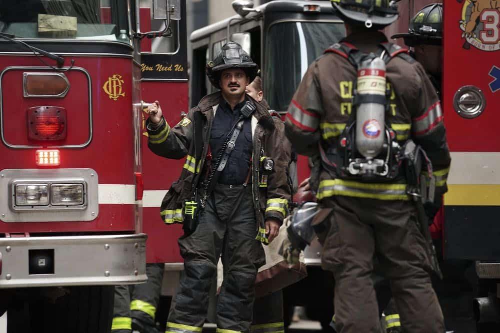 """CHICAGO FIRE -- """"Going to War"""" Episode 702 -- Pictured: Yuri Sardarov as Brian """"Otis"""" Zvonecek -- (Photo by: Elizabeth Morris/NBC)"""