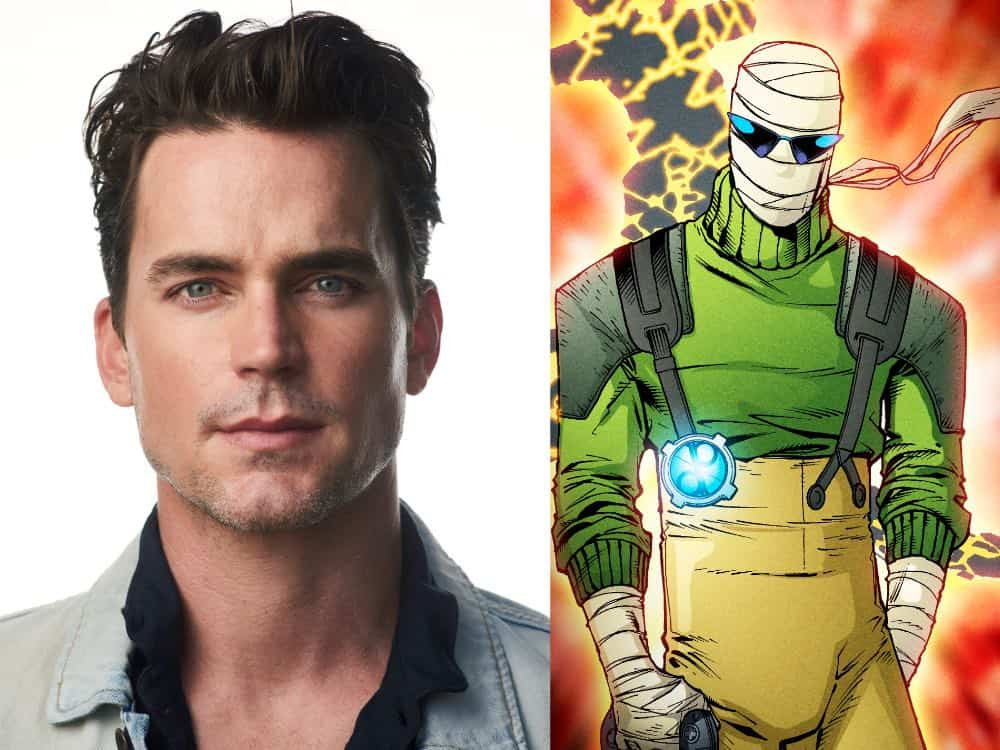 Matt Bomer Doom Patrol Negative Man