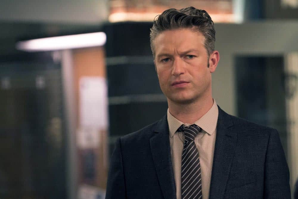 "LAW & ORDER: SPECIAL VICTIMS UNIT -- ""Zero Tolerance"" Episode 2002 -- Pictured: Peter Scanavino as Dominick ""Sonny"" Carisi -- (Photo by: Barbara Nitke/NBC)"