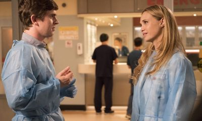 "THE GOOD DOCTOR - ""36 Hours"" - Dr. Melendez, Dr. Brown and Dr. Park have given a young married couple two choices about their future: save the wife's life or their future ability to start a family. Meanwhile, when Dr. Lim has to take care of some personal business, she leaves oversight of the emergency room to Dr. Murphy and Dr. Reznick; and Dr. Glassman's post-op recovery leaves him struggling to get the rest he needs for recovery and also confronting his relationship with his daughter, on ""The Good Doctor,"" MONDAY, OCT. 8 (10:00-11:00 p.m. EDT), on The ABC Television Network. (ABC/Bettina Strauss) FREDDIE HIGHMORE, FIONA GUBELMANN"