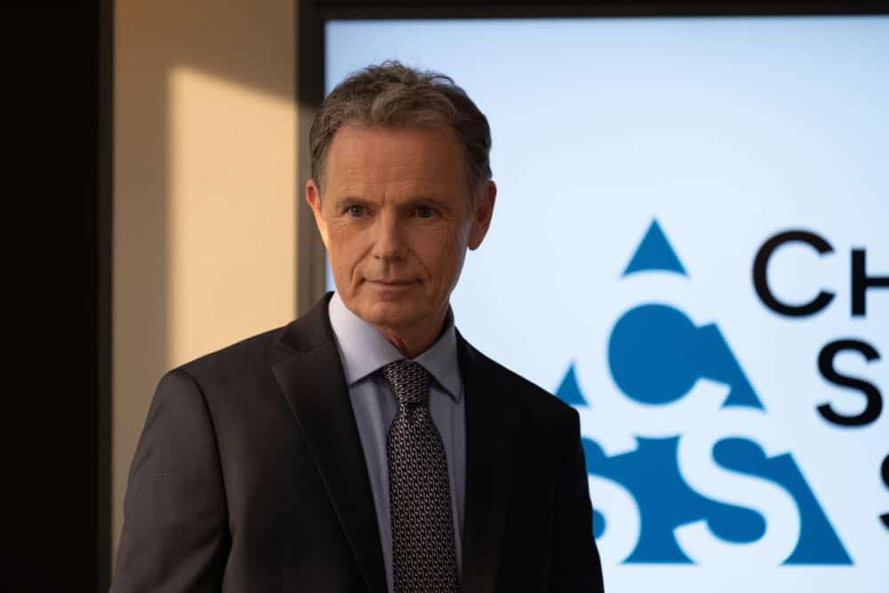 """THE RESIDENT:  Bruce Greenwood in the """"Three Words"""" episode of THE RESIDENT airing Monday, Oct. 1 (8:00-9:00 PM ET/PT) on FOX. ©2018 Fox Broadcasting Co. Cr:  Erika Doss/FOX."""