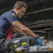 "9-1-1: Ryan Guzman in the ""Stuck"" episode of 9-1-1 airing Monday, Oct. 15 (9:00-10:00 PM ET/PT) on FOX. © 2018 FOX Broadcasting. CR: Jack Zeman / FOX."