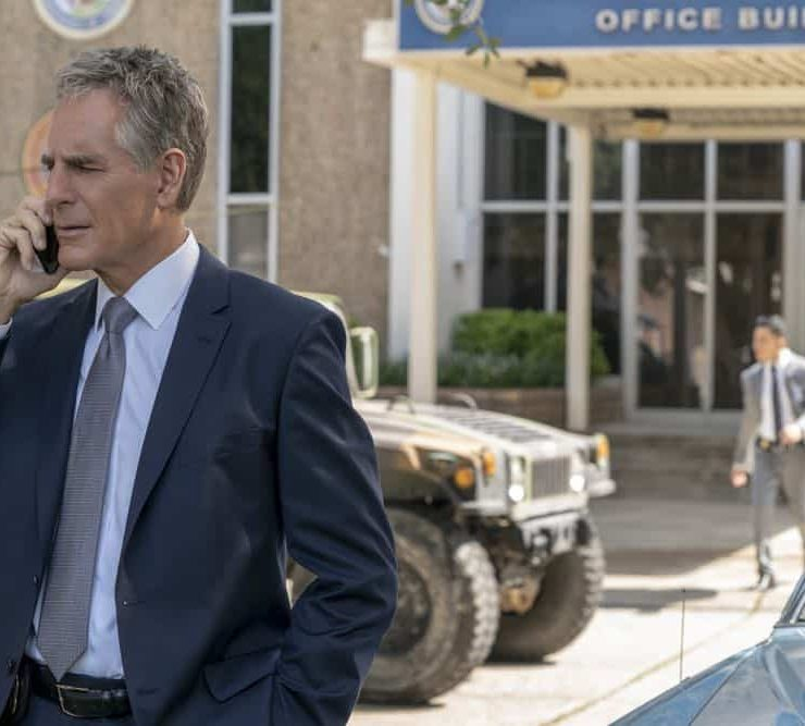 """""""Diplomatic Immunity"""" -- While NCIS investigates the murder of a Navy intelligence officer killed during a conference for foreign diplomats, the key witness cozies up to Sebastian. Also, Pride has some trouble adjusting to his new position at the agency, on NCIS: NEW ORLEANS, Tuesday, Oct. 9 (10:00-11:00 PM, ET/PT) on the CBS Television Network. Pictured: Scott Bakula as Special Agent Dwayne Pride Photo: Skip Bolen/CBS ©2018 CBS Broadcasting, Inc. All Rights Reserved"""