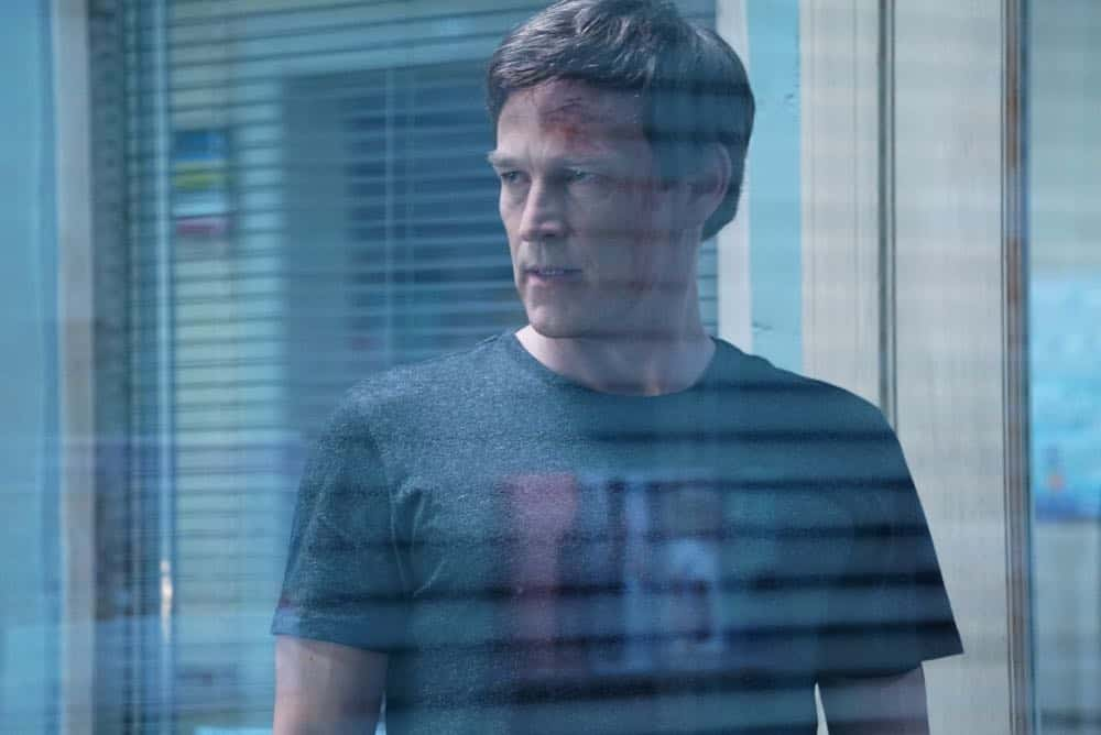 "THE GIFTED:  Stephen Moyer in the ""coMplications"" episode of THE GIFTED airing Tuesday, Oct. 9 (8:00-9:00 PM ET/PT) on FOX. ©2018 Fox Broadcasting Co. Cr: Annette Brown/FOX."