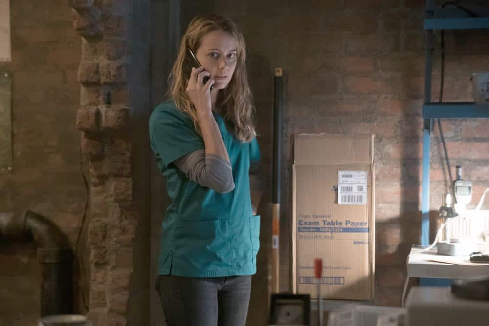 "THE GIFTED: L-R:  Amy Acker in the ""coMplications"" episode of THE GIFTED airing Tuesday, Oct. 9 (8:00-9:00 PM ET/PT) on FOX. ©2018 Fox Broadcasting Co. Cr: Annette Brown/FOX."