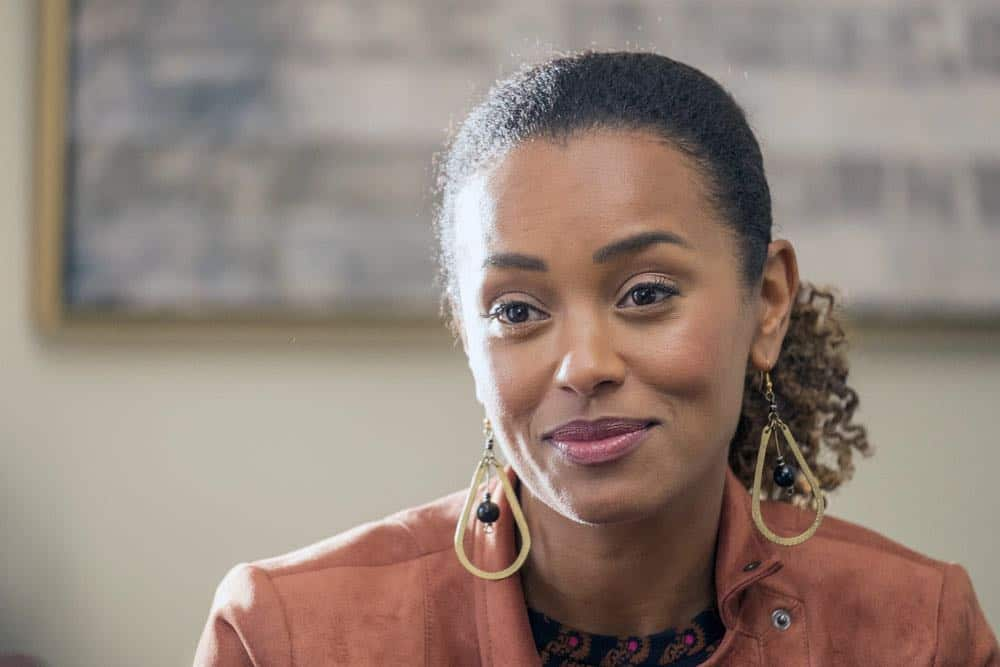 "THIS IS US -- ""Katie Girls"" Episode 303 -- Pictured: Melanie Liburd as Zoe -- (Photo by: Ron Batzdorff/NBC)"